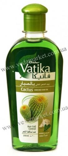 Масло для волос Ватика с Кактусом (Dabur, Vatika) 200 мл - 1