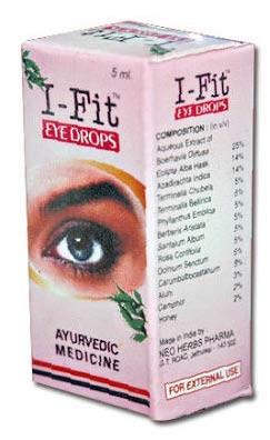 Ай-фит капли для глаз, Нео Хербс (I-Fit Eye Drops,Neo Herbs) 10 мл - 1