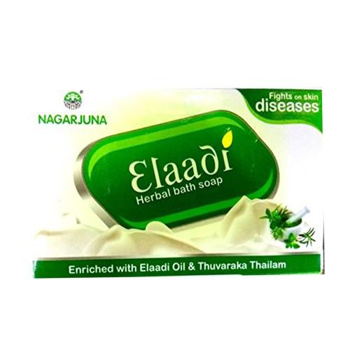 Мыло Элаади, Нагарджуна (Elaadi Ayurvedic Bath Soap, Nagarjuna) 75 гр - 1