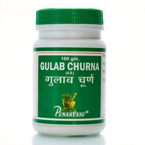 Гулабхул чурна, порошок из розовых лепестков(Gulab churna, Punarvasu), 100 гр - 1