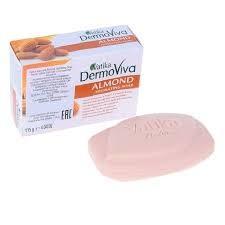 Мыло с экстрактом миндаля (Dabur Vatika DermoViva Almond ) 115 гр - 1