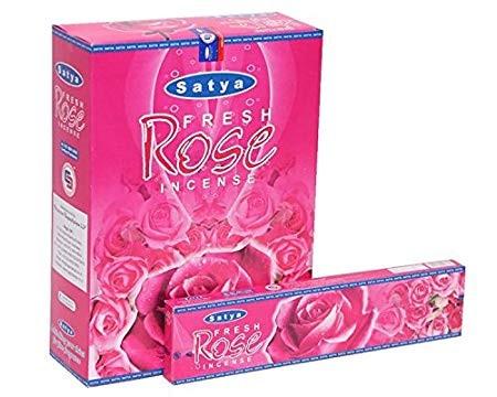 Благовония Fresh Rose (Satya) 20 грамм - 1