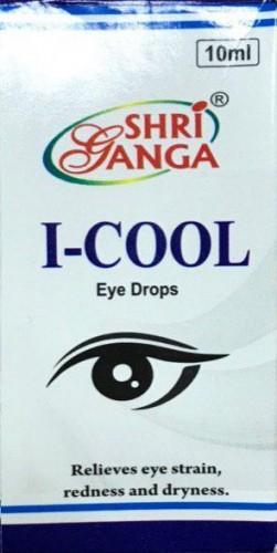 Глазные капли Ай-кул, Шри Ганга (I-COOL, Shri Ganga) 10 мл - 1
