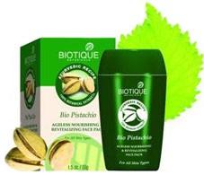 Био Фисташка - маска (Biotique Bio Pistachio pack) 50 гр - 1
