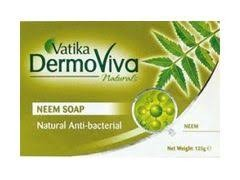 Мыло Ватика антибактериальное Ним (Vatiкa DermoViva Naturals Anti Bacterial Neem), 115 гр - 1