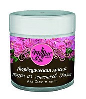 Маска для волос и тела из лепестков Розы (Mayur), 100гр. - 1