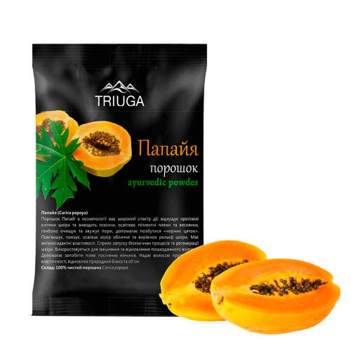 Папая порошок, Триюга (Carica papaya powder, Triuga) 50 грамм - 2