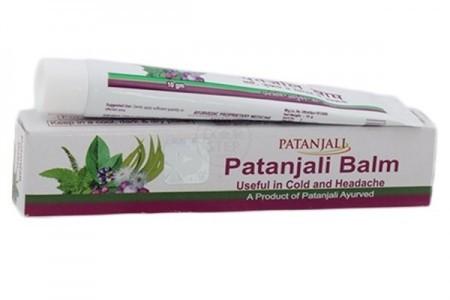 Бальзам Балм от простуды и головной боли, Патанджали (Balm, Patanjali) 10 гр - 1