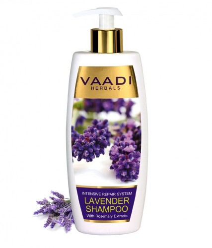 Шампунь Лаванда и Розмарин, Ваади (Lavender Shampoo With Rosemary, Vaadi) 350 мл - 1