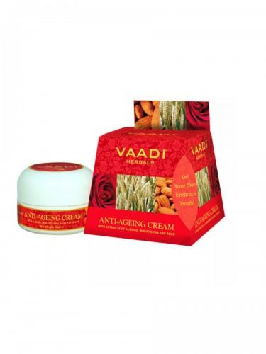 Антивозрастной крем для лица, Ваади Хербалс (Anti Ageing Cream, Vaadi Herbals) 30 мл - 1