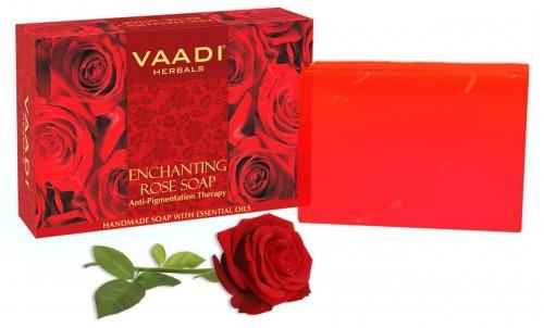 Мыло Чарующая Роза, Ваади (Rose Soap, Vaadi) 75 гр - 1