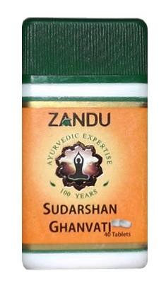 Сударшан гханавати, Занду (Sudarshan ghanvati, Zandu) 40 таб - 1