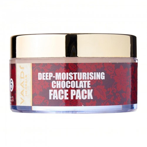 Маска для лица увлажняющая Шоколад, Ваади (Deep-Moisturising Chocolate Face Pack, Vaadi) 70 мл - 1