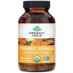 Куркума, Органик Индия (Turmeric Formula Organic India) 60 кап