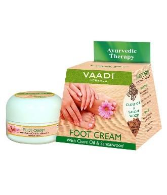Крем для ног Гвоздика и Сандал, Ваади (Foot Cream Clove and Sandal, Vaadi) 30 мл - 1