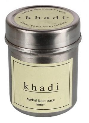 Маска д/лица Ним Кхади (сухая) (Herbal face pack, Khadi), 50 гр - 1
