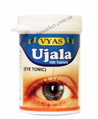 Уджала в таблетках, Вьяс (Ujala eye tonic, VYAS PHARMACY) 100 таб - 1