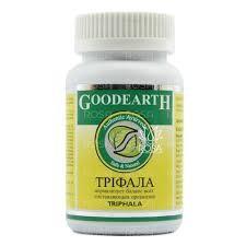 Трифала капсулы, Гудерз (Triphala, GOODEARTH) 60 кап - 1