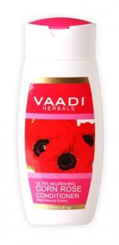 Кондиционер для сухихи волос Роза и Гибискус, Ваади (Conditioner Rose with Hibiscus, Vaadi) 350 мл - 1