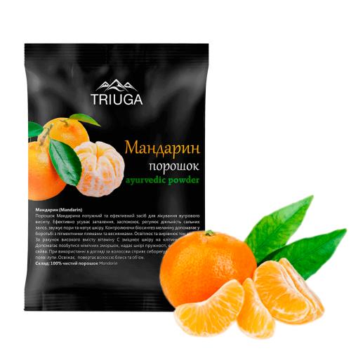 Порошок мандарина, Триюга (Mandarin powder, Triuga) 50 грамм - 2
