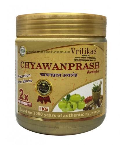 Чаванпраш Авелеха, Вритикас (Chyawanprash Aveleha) 1 кг - 1