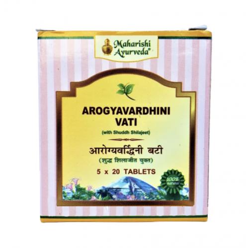 Арогьявардхини Вати, Махариши Аюрведа (Arogyavardhini Vati, Maharishi Ayurveda) 100 таб - 1