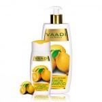 Шампунь Лимон и Чайное дерево, Ваади (Lemon and Tea Tree Shampoo, Vaadi) 350 мл