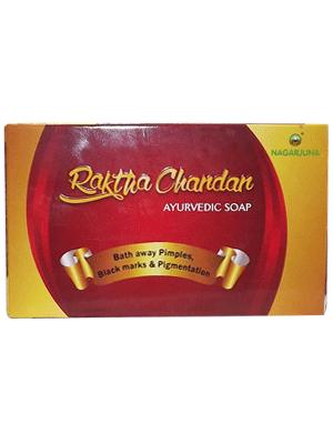 Мыло Анти-акне сандаловое Raktha Chandan (Nagarjuna) 75 грамм - 1