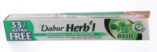 Зубная паста Базилик, Дабур (Тoothpaste Basil, Dabur) 100 гр - 1