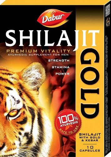 Шиладжит Голд, Дабур (Shilajit Gold, Dabur) 10 кап - 1