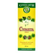 Суракта сироп, Гудкеар Фарма (Surakta, GOODEARTH PHARMA) 200мл - 1