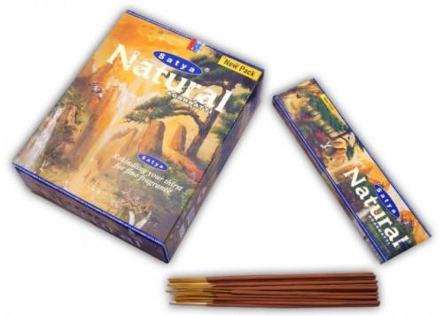 Благовония Natural (Satya) 45 грамм - 1
