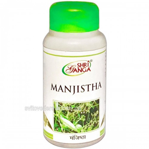 Манжишта, Шри Ганга (Manjishta, Shri Ganga) 100 таб. - 1