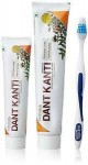 Зубная паста Дант Канти Натурал, Патанджали (Dant Kanti  Natural, Patanjali) 200 гр+100 гр + з/щетка