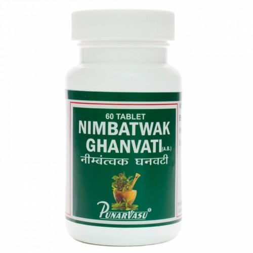 Ним экстракт, Neem, Пунарвасу (Nimbatwak Ghanvati, Punarvasu) 120 табл - 1