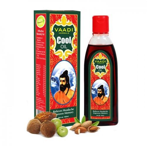 Масло для массажа Трифала и Миндаль, Ваади (Triphala Almond Cool Oil, Vaadi) 200 мл - 1