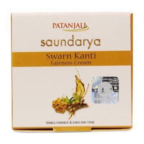 Осветляющий крем Сварн Канти, Патанджали (Swarn Kanti Fairness Saundarya, Patanjali) 50 мл - 1