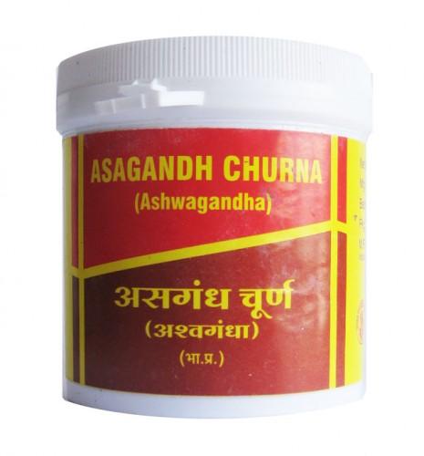 Ашвагандха Чурна, Вьяс (Ashwagandha churna, Vyas Pharmaceuticals) 100 гр - 1