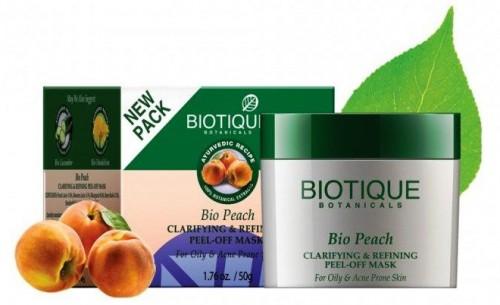 Био Персик маска-пленка (Biotique Bio Peach) 50 гр - 1