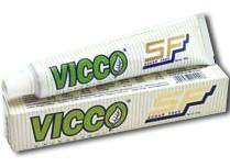 Зубная паста без сахара, Викко (Toothpaste Vajradanti SF, Vicco) 80 гр - 1