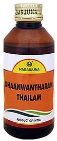 Дханвантарам масло, Нагарджуна (Dhanvantharam Thailam, Nagarjuna) 200 мл - 1