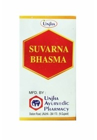 Суварна Бхашма, Унджа (Suvarna Bhasma, Unjha) 100 мг - 1
