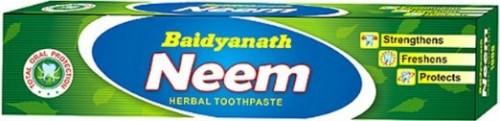 Зубная паста Ним, Бадьянатх (Tooth Paste Neem, Baidyanath) 50 гр - 1