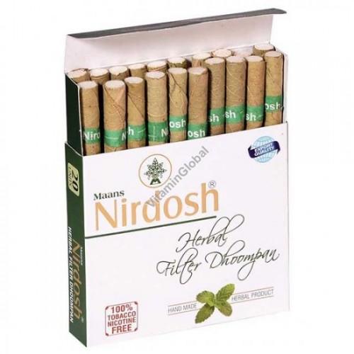 Нирдош, сигареты без никотина (Nirdosh Maans) 20 шт - 1