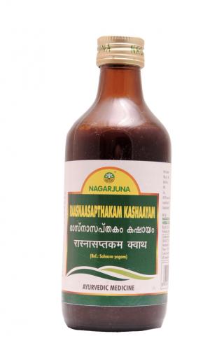 Раснасаптакам Кашаям, Нагарджуна (Rasnasaptakam Kashayam, Nagarjuna) 200 мл. - 1