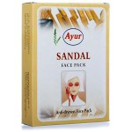 Маска для лица Сандал, Айюр (Sandal anti-dryness Face Pack, Ayur) 100 гр