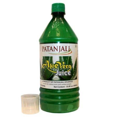 Алое Вера Сок, Патанджали (Aloe Vera Juice, Patanjali) 1 литр - 1