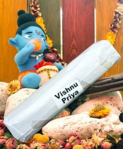 Благовония Vishnu Priya 250 грамм упаковка (Вриндаван) - 1