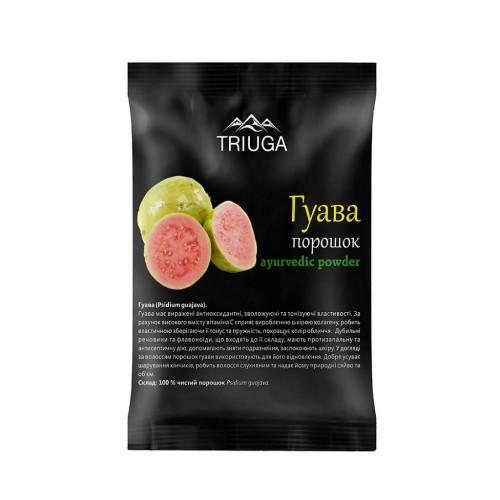 Гуава порошок, Триюга (Psidium guajava powder, Triuga) 50 грамм - 1