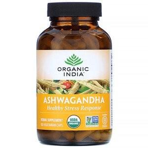 Ашвагандха, Органик Индия ( Ashwagandha, Organic India) 60 кап - 1